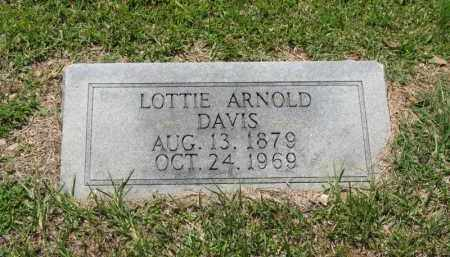 ARNOLD DAVIS, LOTTIE - Columbia County, Arkansas | LOTTIE ARNOLD DAVIS - Arkansas Gravestone Photos