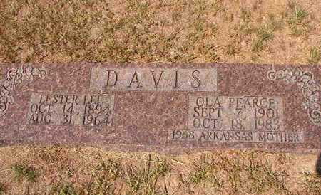 DAVIS, LESTER LEE - Columbia County, Arkansas | LESTER LEE DAVIS - Arkansas Gravestone Photos