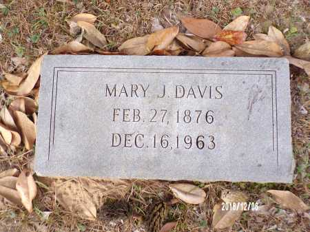 DAVIS, MARY J - Columbia County, Arkansas | MARY J DAVIS - Arkansas Gravestone Photos