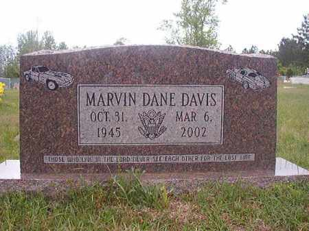DAVIS, MARVIN DANE - Columbia County, Arkansas | MARVIN DANE DAVIS - Arkansas Gravestone Photos