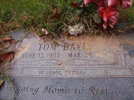 DAVIS, TOM - Columbia County, Arkansas | TOM DAVIS - Arkansas Gravestone Photos