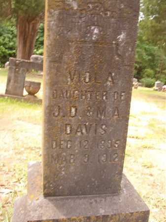 DAVIS, VIOLA - Columbia County, Arkansas | VIOLA DAVIS - Arkansas Gravestone Photos