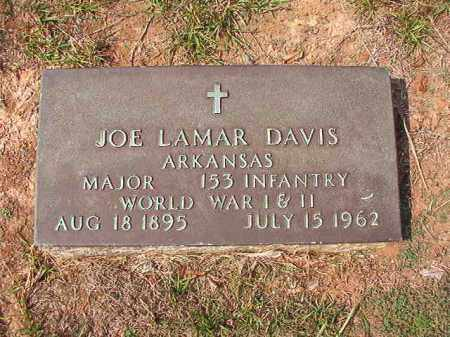 DAVIS (VETERAN 2 WARS), JOE LAMAR - Columbia County, Arkansas | JOE LAMAR DAVIS (VETERAN 2 WARS) - Arkansas Gravestone Photos