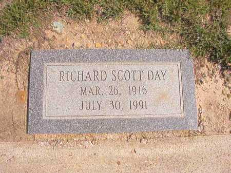 DAY, RICHARD SCOTT - Columbia County, Arkansas | RICHARD SCOTT DAY - Arkansas Gravestone Photos
