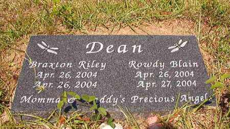 DEAN, BRAXTON RILEY - Columbia County, Arkansas | BRAXTON RILEY DEAN - Arkansas Gravestone Photos