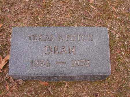 FUTCH DEAN, TEXAS P - Columbia County, Arkansas | TEXAS P FUTCH DEAN - Arkansas Gravestone Photos