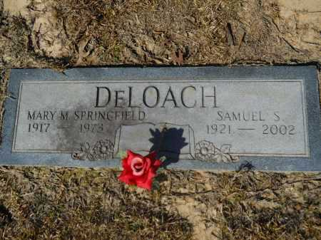 DELOACH, MARY M - Columbia County, Arkansas | MARY M DELOACH - Arkansas Gravestone Photos