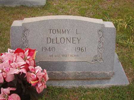 DELONEY, TOMMY L - Columbia County, Arkansas | TOMMY L DELONEY - Arkansas Gravestone Photos
