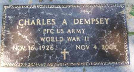 DEMPSEY, CHARLES A - Columbia County, Arkansas | CHARLES A DEMPSEY - Arkansas Gravestone Photos