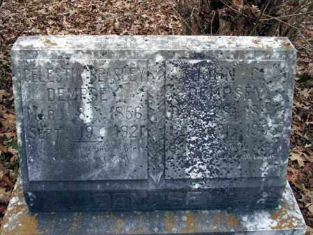 DEMPSEY, JOHN C - Columbia County, Arkansas | JOHN C DEMPSEY - Arkansas Gravestone Photos