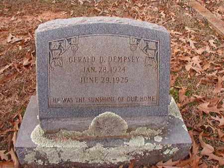DEMPSEY, GERALD D - Columbia County, Arkansas | GERALD D DEMPSEY - Arkansas Gravestone Photos