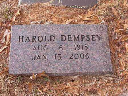 DEMPSEY, HAROLD - Columbia County, Arkansas | HAROLD DEMPSEY - Arkansas Gravestone Photos
