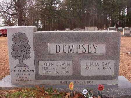 DEMPSEY, JOHN EDWIN - Columbia County, Arkansas | JOHN EDWIN DEMPSEY - Arkansas Gravestone Photos