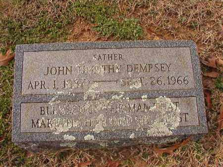 DEMPSEY, JOHN TIMOTHY - Columbia County, Arkansas | JOHN TIMOTHY DEMPSEY - Arkansas Gravestone Photos