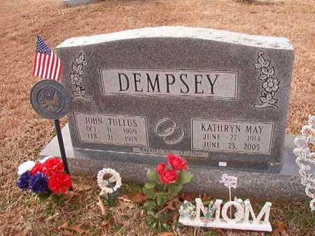 DEMPSEY, KATHRYN MAY - Columbia County, Arkansas | KATHRYN MAY DEMPSEY - Arkansas Gravestone Photos