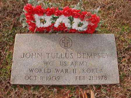 DEMPSEY (VETERAN 2 WARS), JOHN TULLUS - Columbia County, Arkansas | JOHN TULLUS DEMPSEY (VETERAN 2 WARS) - Arkansas Gravestone Photos