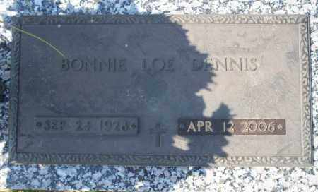 LOE DENNIS, BONNIE - Columbia County, Arkansas | BONNIE LOE DENNIS - Arkansas Gravestone Photos