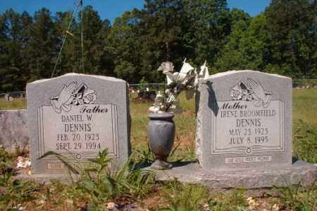 BROOMFIELD DENNIS, IRENE - Columbia County, Arkansas | IRENE BROOMFIELD DENNIS - Arkansas Gravestone Photos