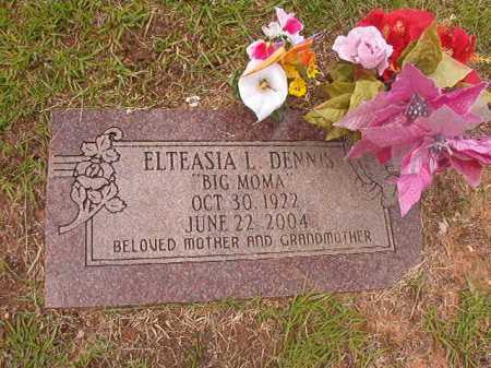 DENNIS, ELTEASIA L - Columbia County, Arkansas | ELTEASIA L DENNIS - Arkansas Gravestone Photos