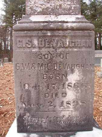 DEVAUGHAN, G S - Columbia County, Arkansas | G S DEVAUGHAN - Arkansas Gravestone Photos