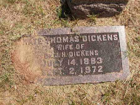 DICKENS, KATE - Columbia County, Arkansas | KATE DICKENS - Arkansas Gravestone Photos