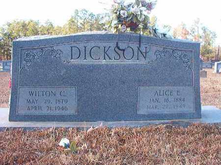 DICKSON, ALICE E - Columbia County, Arkansas | ALICE E DICKSON - Arkansas Gravestone Photos