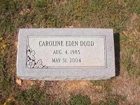 DODD, CAROLINE EDEN - Columbia County, Arkansas | CAROLINE EDEN DODD - Arkansas Gravestone Photos