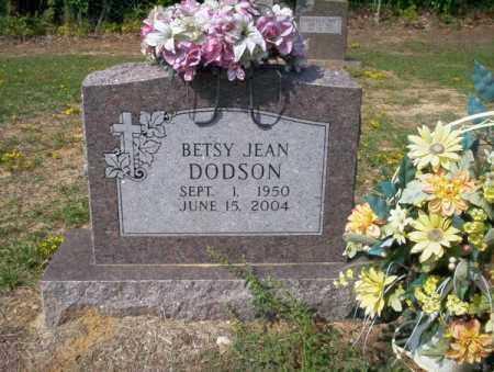 DODSON, BETSY JEAN - Columbia County, Arkansas | BETSY JEAN DODSON - Arkansas Gravestone Photos