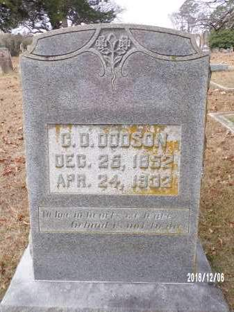 DODSON, C D - Columbia County, Arkansas | C D DODSON - Arkansas Gravestone Photos
