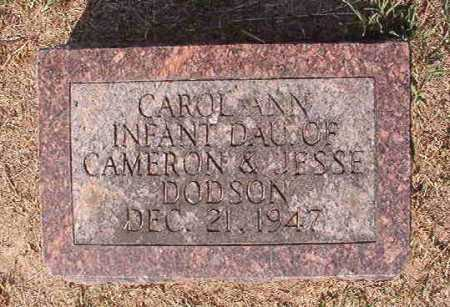 DODSON, CAROL ANN - Columbia County, Arkansas | CAROL ANN DODSON - Arkansas Gravestone Photos