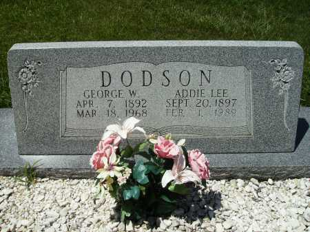 DODSON, GEORGE W. - Columbia County, Arkansas | GEORGE W. DODSON - Arkansas Gravestone Photos