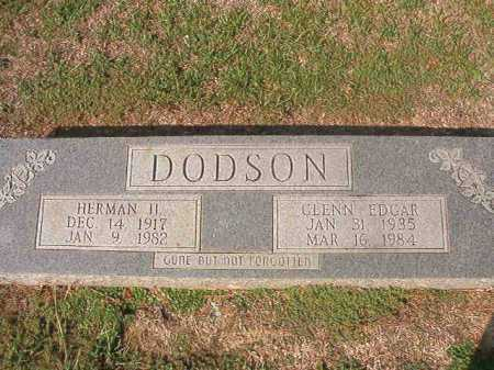DODSON, GLENN EDGAR - Columbia County, Arkansas | GLENN EDGAR DODSON - Arkansas Gravestone Photos