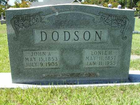 DODSON, LONIE H. - Columbia County, Arkansas | LONIE H. DODSON - Arkansas Gravestone Photos