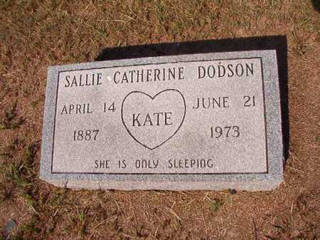 DODSON, SALLIE CATHERINE - Columbia County, Arkansas | SALLIE CATHERINE DODSON - Arkansas Gravestone Photos