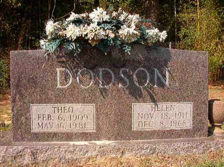 DODSON, THEO - Columbia County, Arkansas | THEO DODSON - Arkansas Gravestone Photos