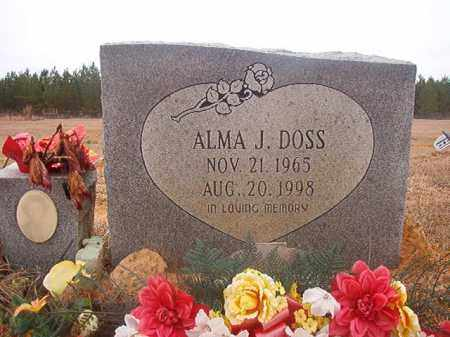 DOSS, ALMA J - Columbia County, Arkansas | ALMA J DOSS - Arkansas Gravestone Photos