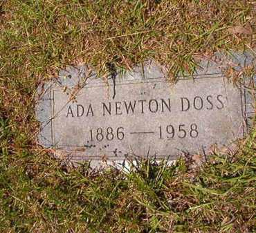 NEWTON DOSS, ADA - Columbia County, Arkansas | ADA NEWTON DOSS - Arkansas Gravestone Photos
