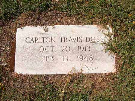 DOSS, CARLTON TRAVIS - Columbia County, Arkansas | CARLTON TRAVIS DOSS - Arkansas Gravestone Photos