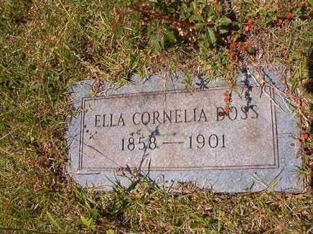 DOSS, ELLA CORNELIA - Columbia County, Arkansas | ELLA CORNELIA DOSS - Arkansas Gravestone Photos