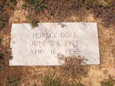 DOSS, HORACE - Columbia County, Arkansas | HORACE DOSS - Arkansas Gravestone Photos
