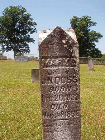DOSS, MARY E - Columbia County, Arkansas | MARY E DOSS - Arkansas Gravestone Photos