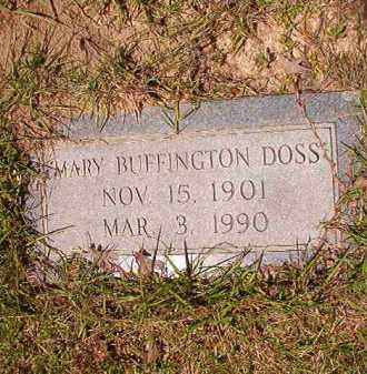BUFFINGTON DOSS, MARY - Columbia County, Arkansas | MARY BUFFINGTON DOSS - Arkansas Gravestone Photos