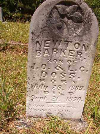 DOSS, NEWTON BARKER - Columbia County, Arkansas | NEWTON BARKER DOSS - Arkansas Gravestone Photos