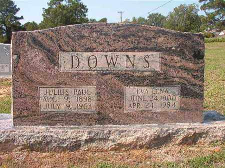 DOWNS, JULIUS PAUL - Columbia County, Arkansas | JULIUS PAUL DOWNS - Arkansas Gravestone Photos