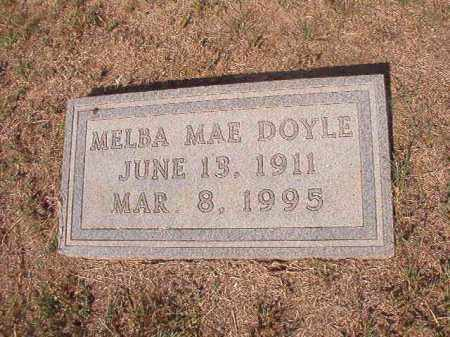 DOYLE, MELBA MAE - Columbia County, Arkansas | MELBA MAE DOYLE - Arkansas Gravestone Photos