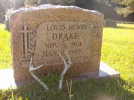 DRAKE, LOUIS HENRY - Columbia County, Arkansas | LOUIS HENRY DRAKE - Arkansas Gravestone Photos