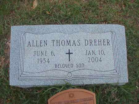 DREHER, ALLEN THOMAS - Columbia County, Arkansas | ALLEN THOMAS DREHER - Arkansas Gravestone Photos