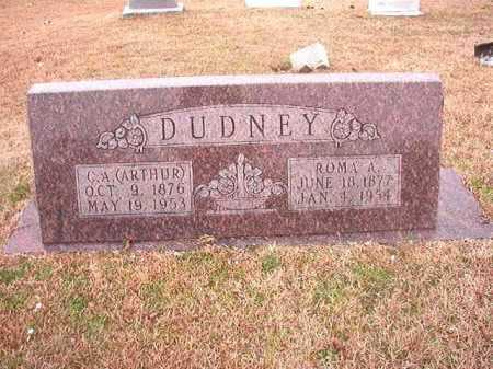 DUDNEY, C A (ARTHUR) - Columbia County, Arkansas | C A (ARTHUR) DUDNEY - Arkansas Gravestone Photos