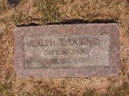 DUDNEY, RALPH T - Columbia County, Arkansas | RALPH T DUDNEY - Arkansas Gravestone Photos