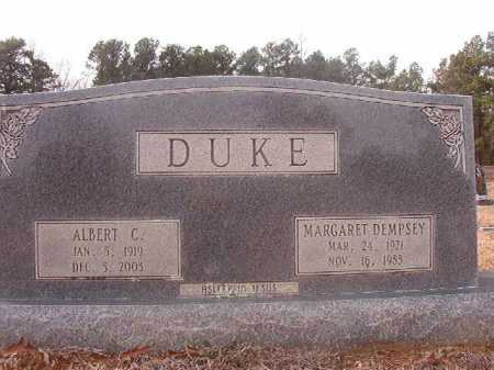 DUKE, MARGARET - Columbia County, Arkansas | MARGARET DUKE - Arkansas Gravestone Photos